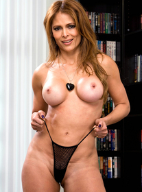 Monique Fuentes is a super hot latina milf