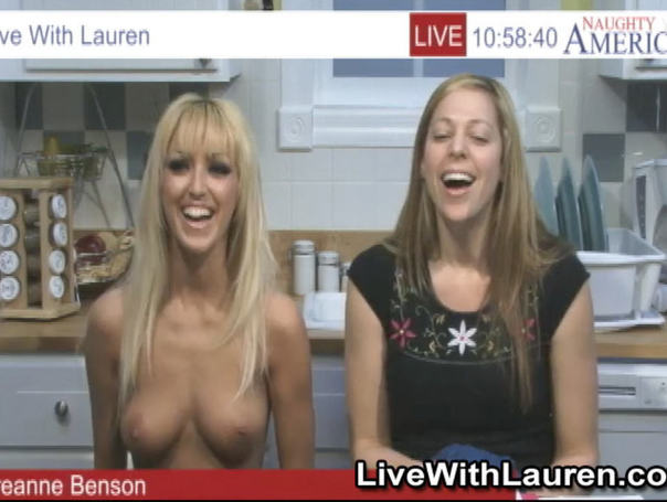 Breanne Benson Live With Lauren2