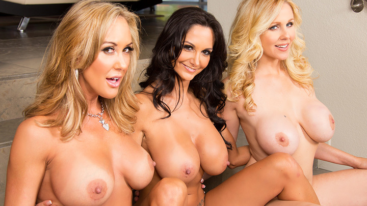 Ava Addams, Brandi Love, Julia Ann- My Friend's Hot Mom