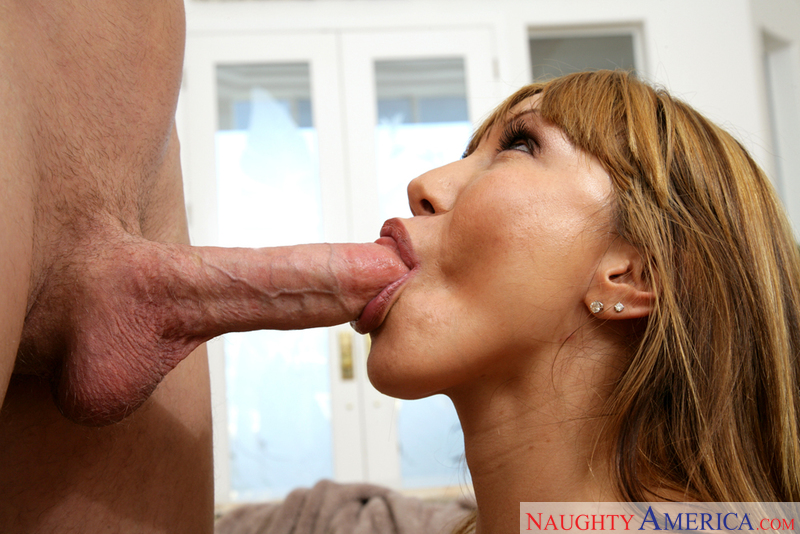 Ava Devine fucks her sons friend ahead he goes to a concert