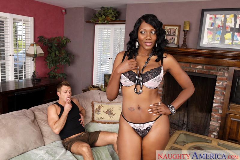 My friends hot black mom