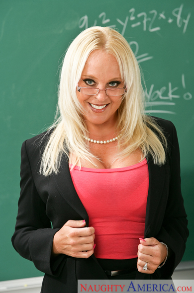 Alexis Golden blonde sex teacher