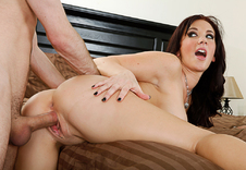 Jayden Jaymes gets fucked hard by her friend's brother