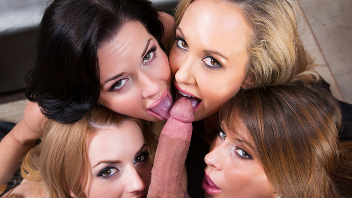 Brandi Love & Lexi Belle & Madison Ivy & Veronica Avluv- Naughty Office