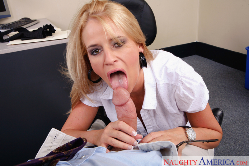 Madison James uniform fetish video from Naughty Office