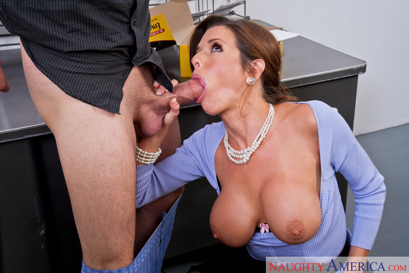 Veronica Avluv uniform fetish video from Naughty Office