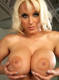 cougar blonde blowjob